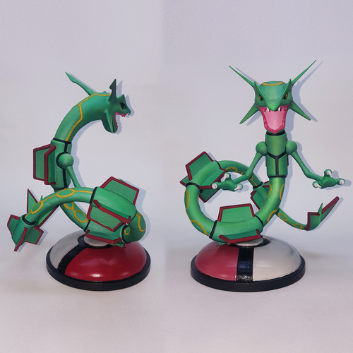 POKEMON RAYQUAZA FOR 3D PRINT 3D Print 32679