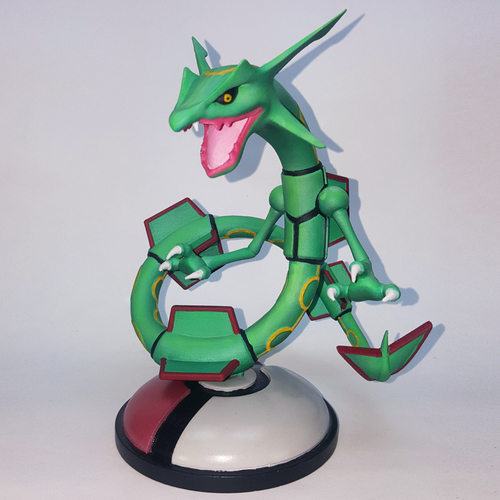 POKEMON RAYQUAZA FOR 3D PRINT 3D Print 32681