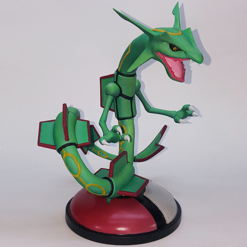 POKEMON RAYQUAZA FOR 3D PRINT 3D Print 32683