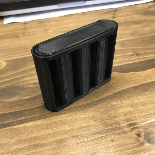 AA Battery Container 3D Print 32695