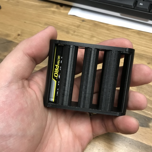 AA Battery Container 3D Print 32698