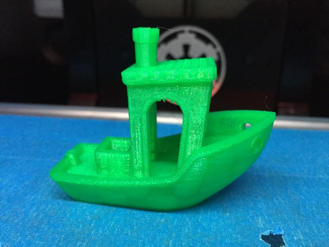 #3DBenchy - The jolly 3D printing torture-test 3D Print 328