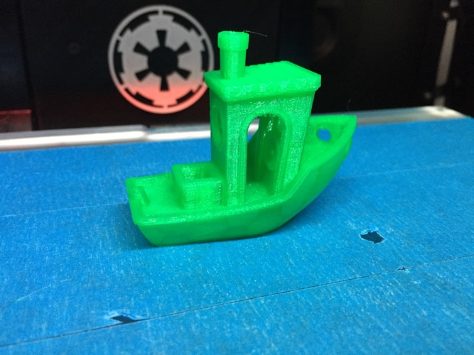 #3DBenchy - The jolly 3D printing torture-test 3D Print 329