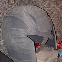 Small JUDGE ( DREDD ) HELMET 3D Printing 33354