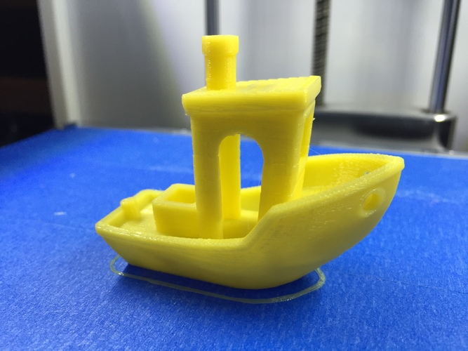 #3DBenchy - The jolly 3D printing torture-test 3D Print 334
