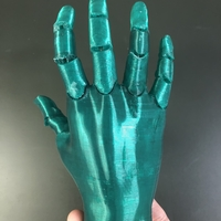 Small Jointed Hand 3D Printing 33411