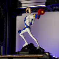Small Earthworm Jim 3D Printing 33494