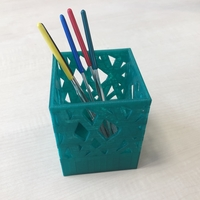Small Pen Stand 3D Printing 33517