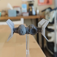 Small TIE Shuttle - X-wing miniatures compatible 3D Printing 33945