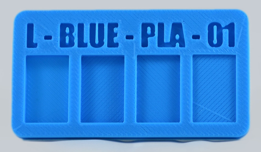 Filament Sample Chip - Business Card Style 3D Print 3401