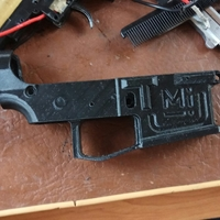 Small Printable Airsoft AR15 (PAAR15) AEG Body kit (08.12.19) 3D Printing 34029