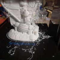 Small Coral Heart wedding return gift ideas 3D Printing 34044