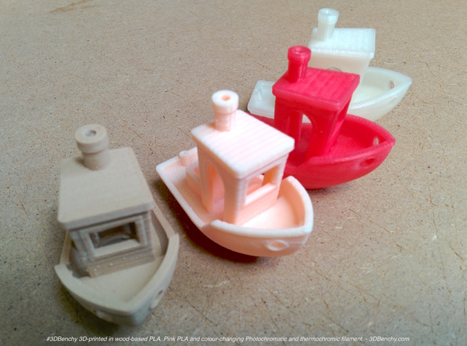 #3DBenchy - The jolly 3D printing torture-test 3D Print 341