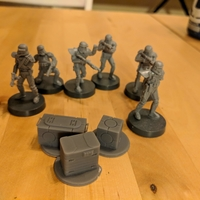 Small Legion scale boxes 3D Printing 34106