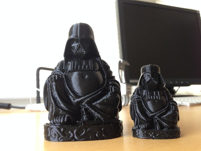 Darth Vader Buddha with saber 3D Print 3413