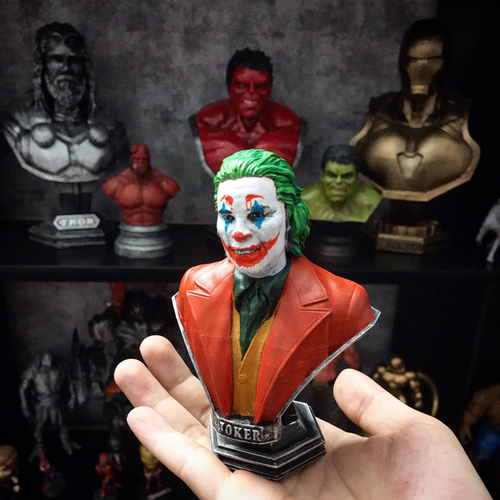 ​Joker Bust -from Joker movie 2019 3D Print 34168