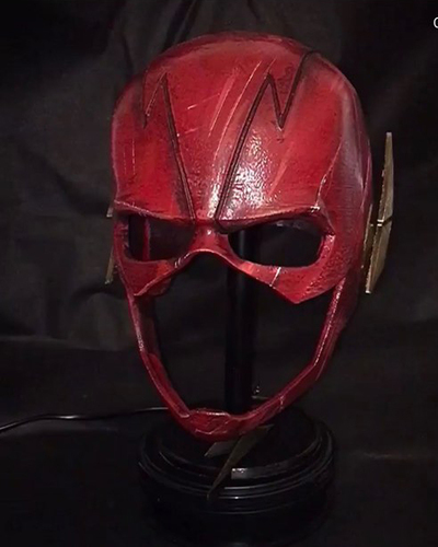 Flash Helmet - Justice League 3D print model 3D Print 34198
