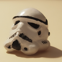 Small 3d Ring Stormtrooper 3D Printing 34233