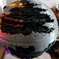 Small Star Wars Death Star 3D Printing 34295