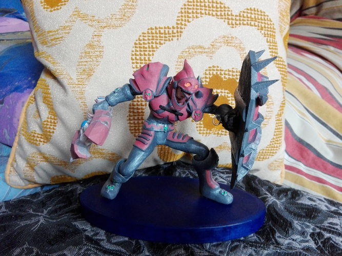 Tanque, World of Warcraft  3D Print 34377