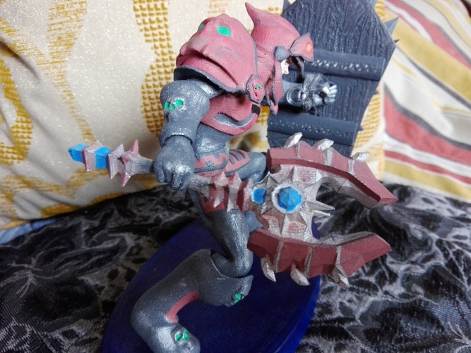 Tanque, World of Warcraft  3D Print 34383