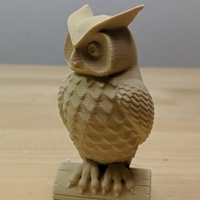 Small Owl 3D Printing 34452