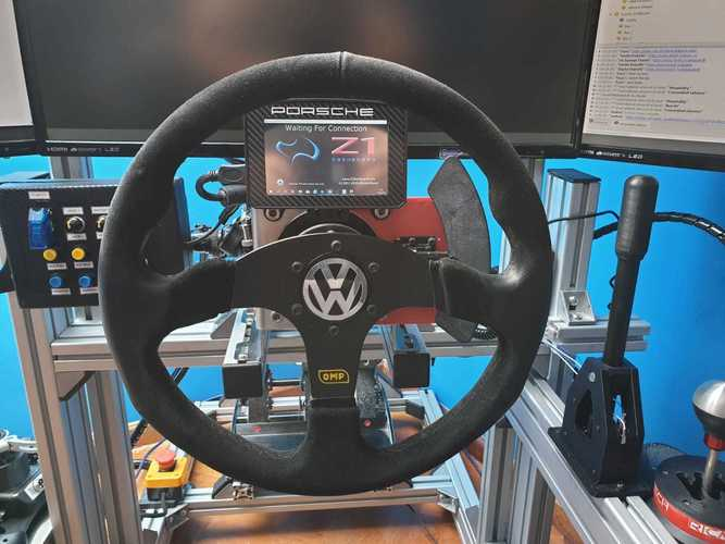 DIY WRC Magnetic Push-Pull Paddle Shifter for Rallysim 3D Print 34470