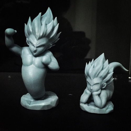 GotenKS Ghost version 03 from Dragon Ball Z 3D Print 34636