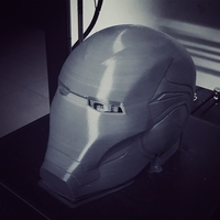 Small IRONMAN HELMET - MARK 85 version - from Infinity war - End game 3D Printing 34660