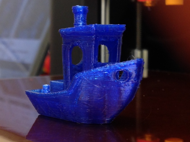 #3DBenchy - The jolly 3D printing torture-test 3D Print 3468