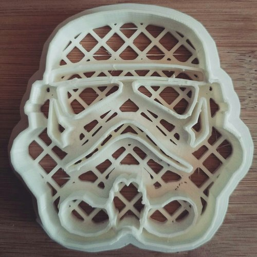Star Wars cookie cutters- 100 and 80mm (Free) 3D Print 34696