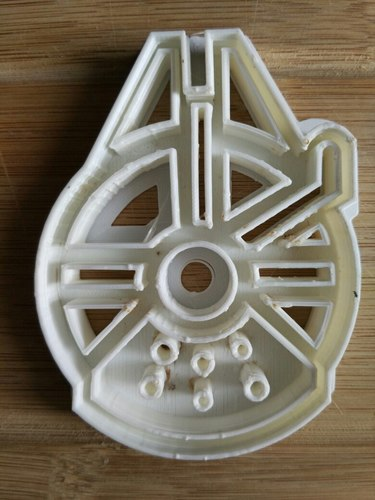 Star Wars cookie cutters- 100 and 80mm (Free) 3D Print 34699