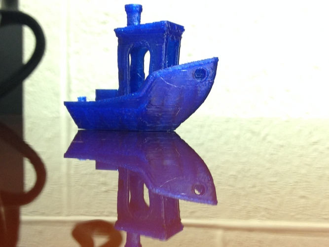 #3DBenchy - The jolly 3D printing torture-test 3D Print 3470