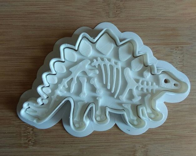 Dinosaurs-Bronezavr-stamp-Cookie cutters-100mm 3D Print 34702