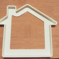Small  Cookie cutter house- three sizes 50,65,90mm (Free) 3D Printing 34707