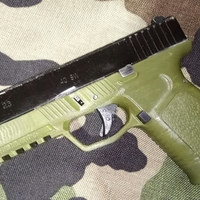 Small Frame for kjw airsoft glock 19/23 3D Printing 34746