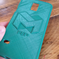Small Samsung Galaxy S5 MadeSolid S5 Case 3D Printing 3521
