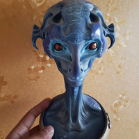 Small Alien Head 3D Printing 35266