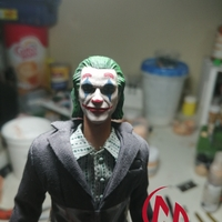 Small Joker Head Movie ver. (Joaquin Phoenix) 3D Printing 35317
