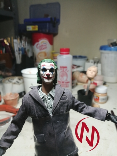 Joker Head Movie ver. (Joaquin Phoenix) 3D Print 35318