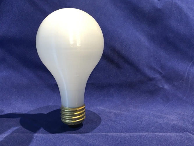 3D Printed Light Bulb 3D Print 3539