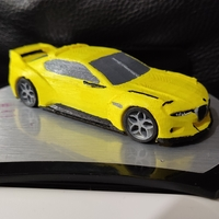 Small BMW CSL Hommage 3D Printing 35423