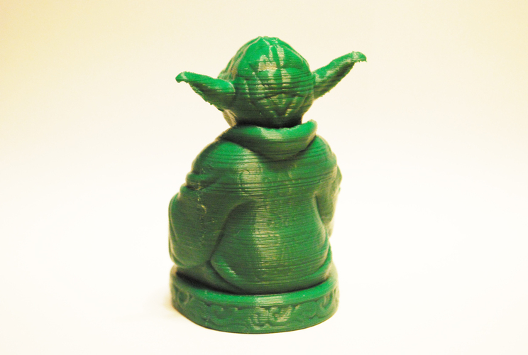 Improved Yoda Buddha w/ Lightsaber  3D Print 3547