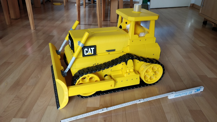 Caterpillar Bulldozer, RC  3D Print 35730