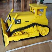 Small Caterpillar Bulldozer, RC  3D Printing 35730