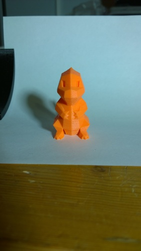 Low Poly Pokemon  3D Print 358