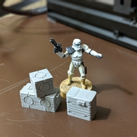 Small Legion scale boxes 3D Printing 35817