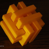 Small Gordian Knot Puzzle 3D Printing 3587