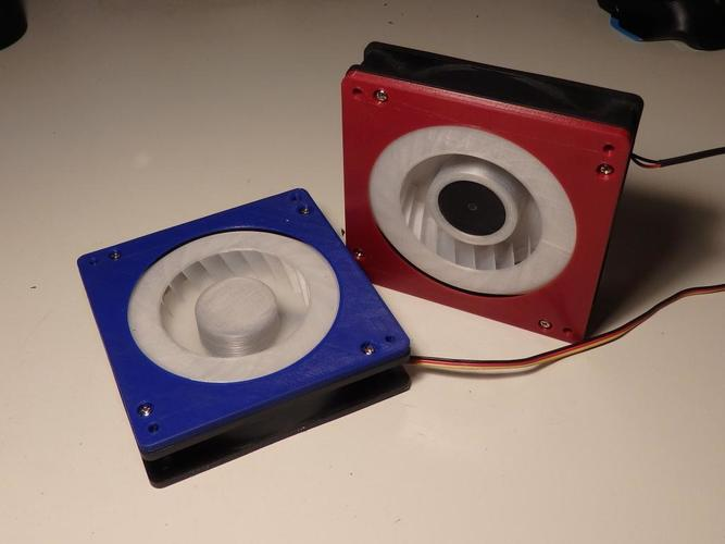 High Pressure PC fan Kit - more than 100% boost 3D Print 36147
