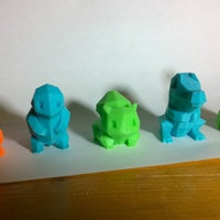 Small Low Poly Pokemon  3D Printing 363